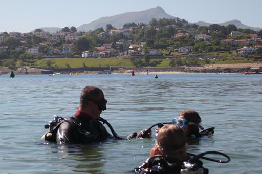 Plongée en Pays Basque